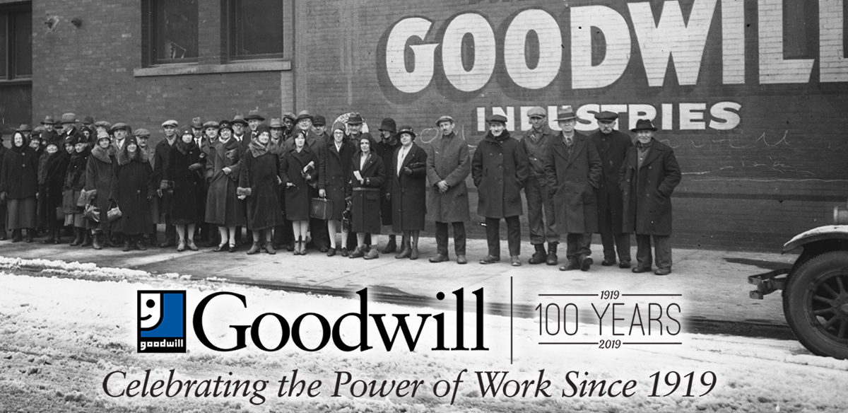 Goodwill - Celebrating the Power of Work Since 1919