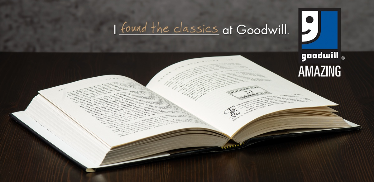 Discover something amazing at Goodwill!