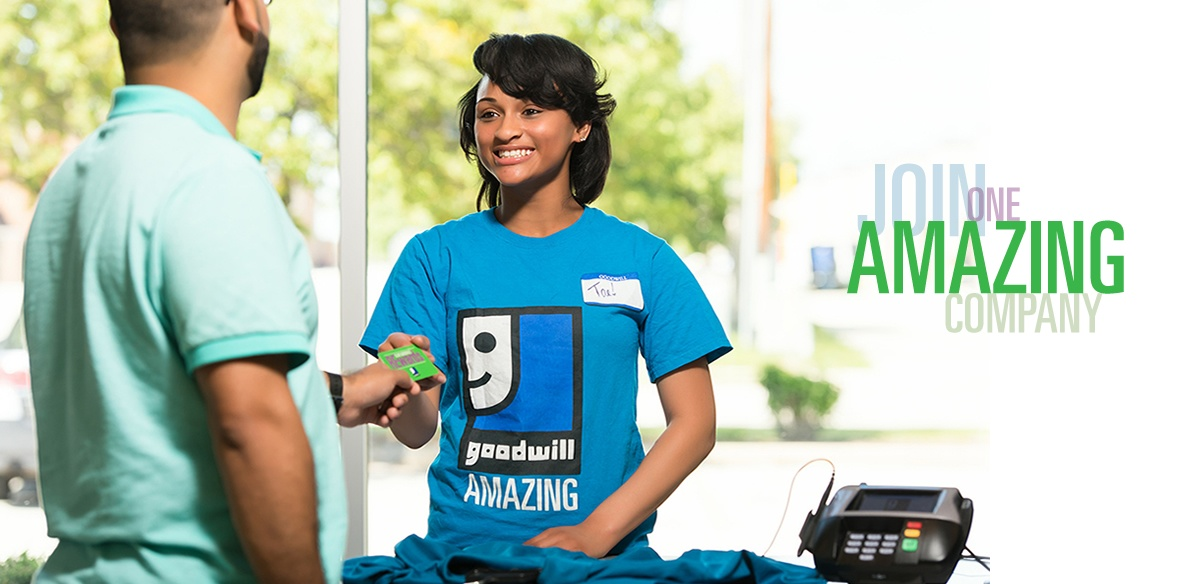 Goodwill is hiring!